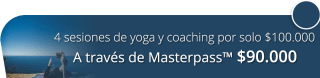 4 sesiones de yoga y coaching por solo $100.000 - Sananda Terapias Alternativas Yoga Coaching