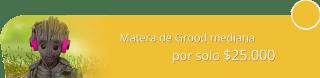 Plantera Naturaleza con Estilo - Matera de Grood mediana por solo $25.000