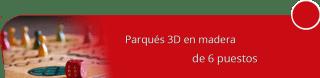 Artesanias en Madera M Y D - Parqués 3D en madera de 6 puestos