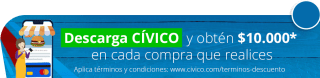 Descarga CÍVICO - Beneficio $10.000