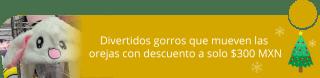 Divertidos gorros que mueven las orejas con descuento a solo $300 MXN - Pepinillo Store