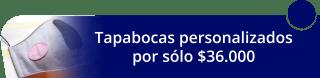 Tapabocas personalizados por solo $36.000 - Miatelier_M