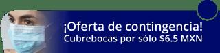 Cubrebocas por sólo $6.5 MXN - Más imagen