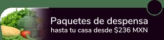 Paquetes de despensa hasta tu casa desde $236 MXN - Mi Huertito Roma