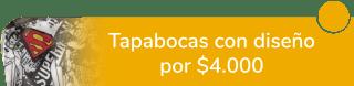 Metal Jackets - Tapabocas personalizados por $9.500