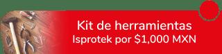 Kit de herramientas Isprotek por $1,000 MXN - ICR Consumibles