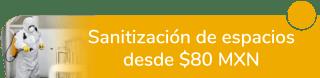 ¡Cuida tu salud! Sanitización de espacios desde $80 MXN - Más Clean Servicios de limpieza