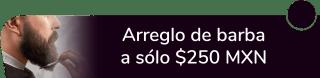 ¡Luce espectacular! Arreglo de Barba a sólo $250 MXN - La Logia Barberías & Tatto Felix Cuevas