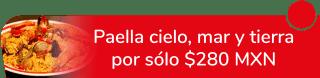 ¡Buen provecho! Paella Cielo Mar y Tierra por sólo $280 MXN - Los Paelleros De Lindavista