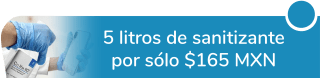 """¡Cuida tu salud! 5 litros de sanitizante por sólo $165 MXN - """"lindaclean"""""""