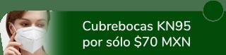 ¡Cuida tu salud! Cubrebocas KN95 por sólo $70 MXN - Equipo Y Protección Meidin Mexa