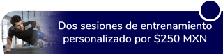 Dos sesiones de entrenamiento personalizado por $250 MXN - F.u.l.l