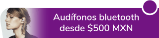 Audífonos bluetooth varios desde $500 MXN - Boxy Regalos Buenavista
