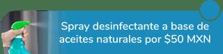 Spray desinfectante a base de aceites naturales por sólo $50 MXN - Nichi Nice