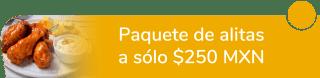 Paquete de alitas a sólo $250 MXN - Racing Wings