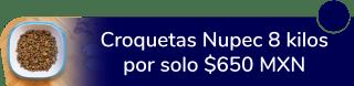 Croquetas Nupec 8 kilos por sólo $650 MXN - Dog Nupec
