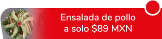 Ensalada de pollo a sólo $89 MXN - La Bambolina Del Barrio