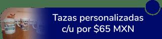 Hermosas tazas personalizadas a sólo $65 MXN c/u - Creaciones Lía