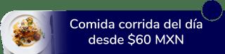 Comida corrida del día desde $60 MXN - Cocina Económica Los Arbolitos