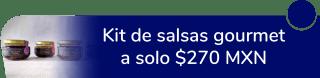 Kit de salsas gourmet a sólo $270 MXN - Tonalcalli Gourmet