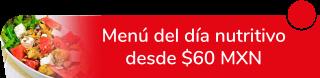 Menú del día nutritivo desde $60 MXN - Tacos Abue Tere