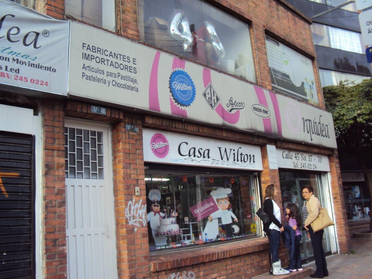 Orquídea Punto Calle 45 en Bogotá
