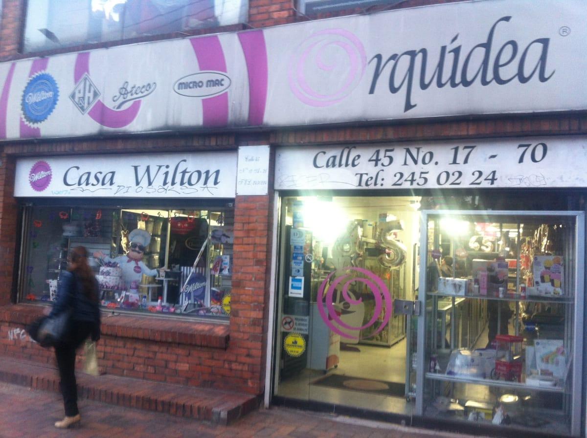 Orquídea Punto Calle 45