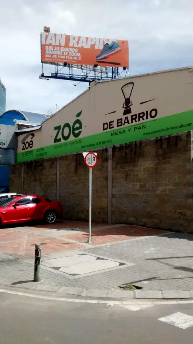Zoe de barrio cocina de mercado corrientazos molinos for Barrio ciudad jardin norte bogota