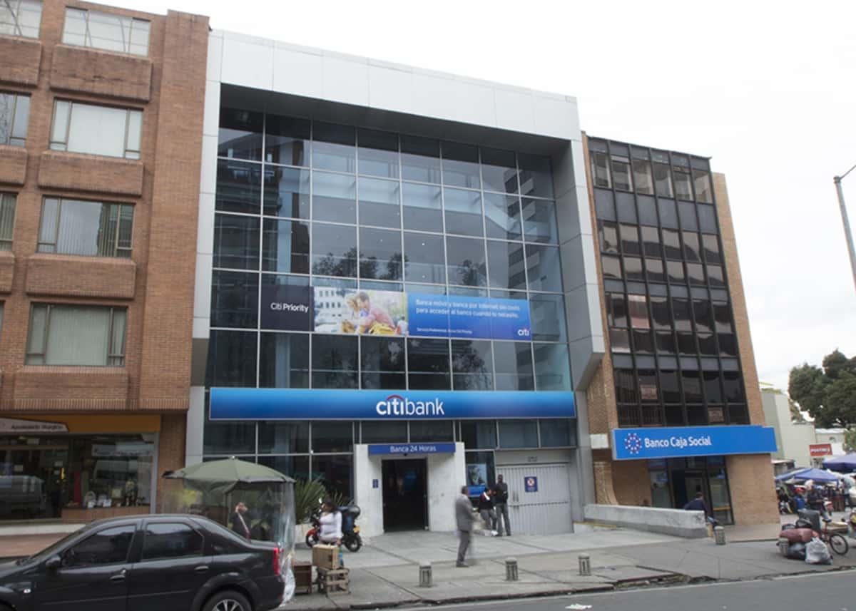 Citibank avenida chile bancos centro comercial avenida for Oficinas bancolombia cali