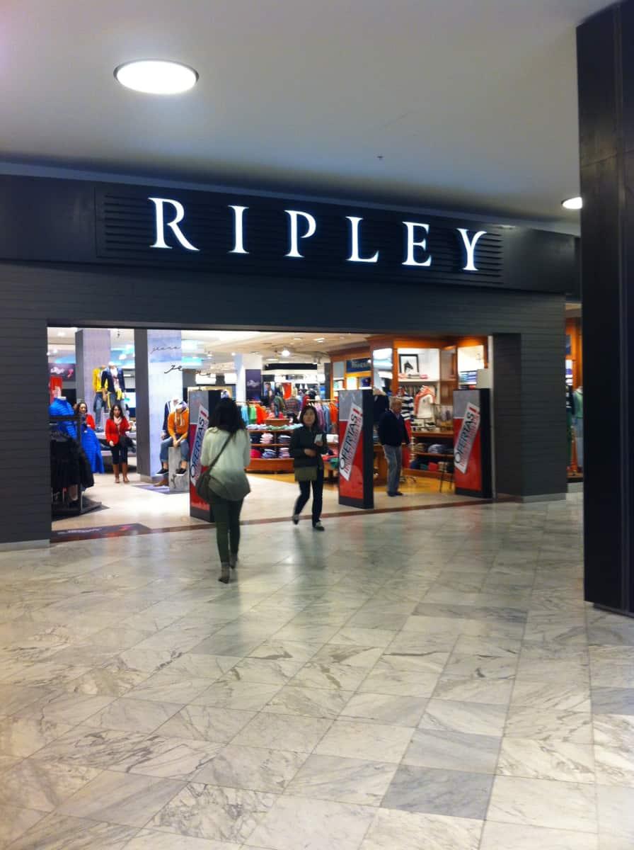 Ripley Mall Parque Arauco En Av Presidente Kennedy N 5413  # Muebles Sur Parque Arauco