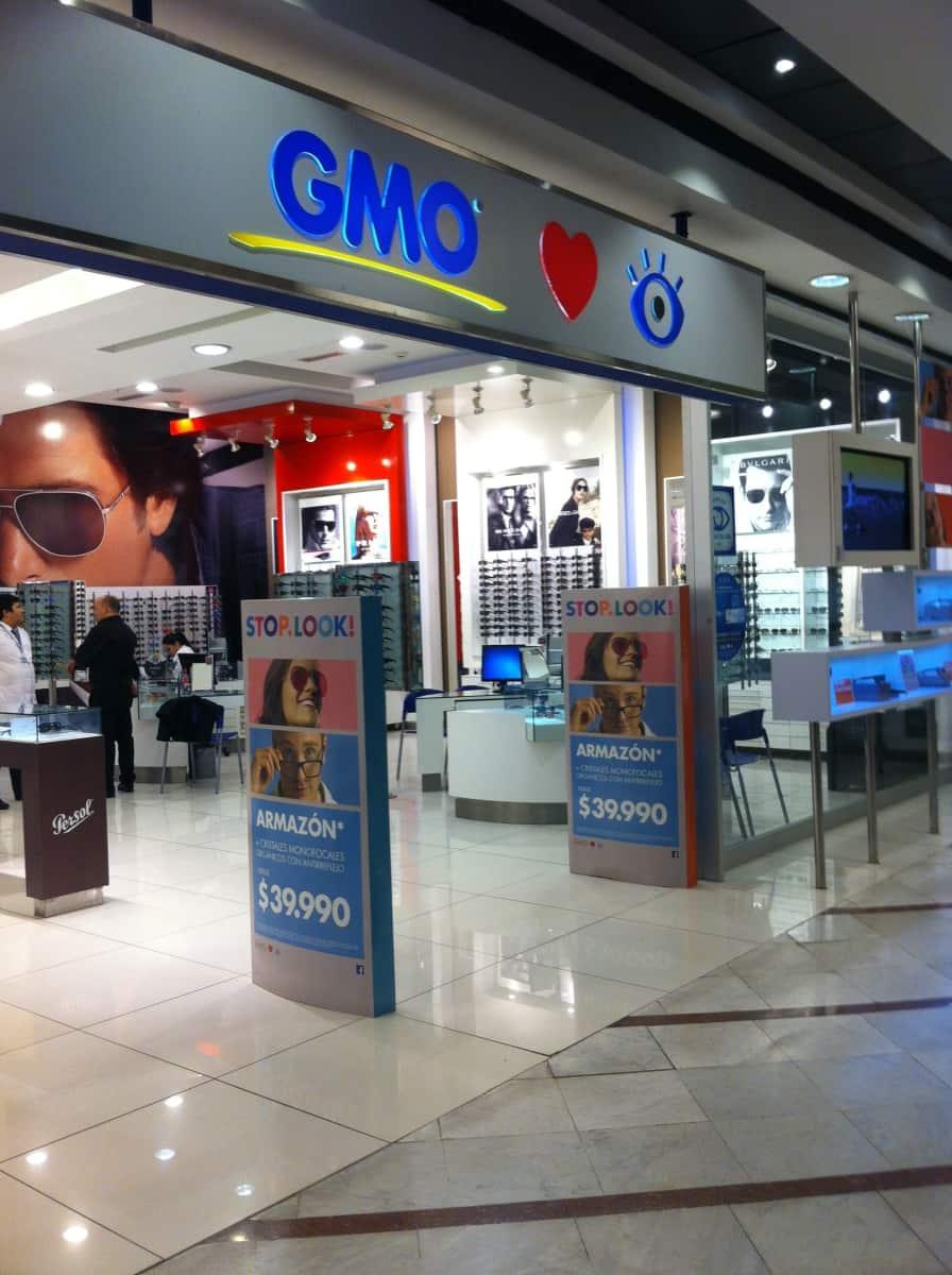 38edb2b0b2 Ópticas GMO - Mall Parque Arauco en Av. Presidente Kennedy N° 5413 ...