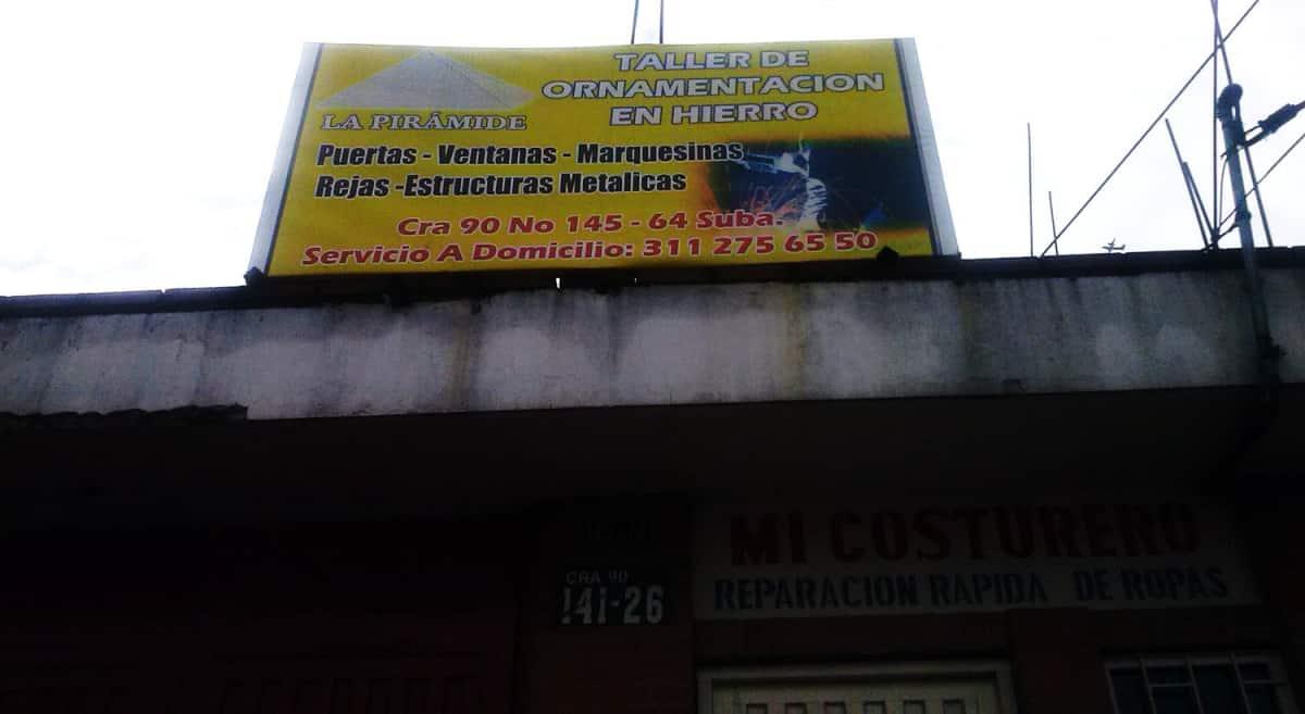 Taller De Ornamentaci N En Hierro La Pir Mide Ornamentaci N  # Muebles Suizos Bogota Suba