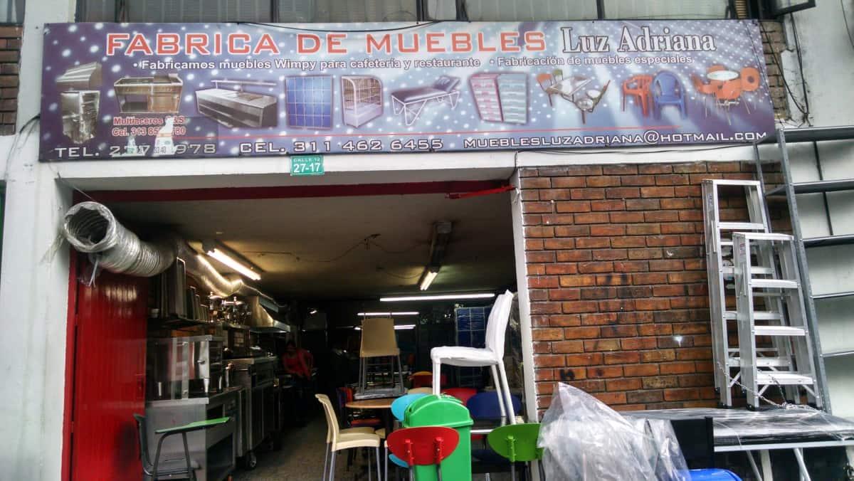 Fotos De Fabrimuebles Luz Adriana En M Rtires Civico Com # Fabrica De Muebles Wimpy