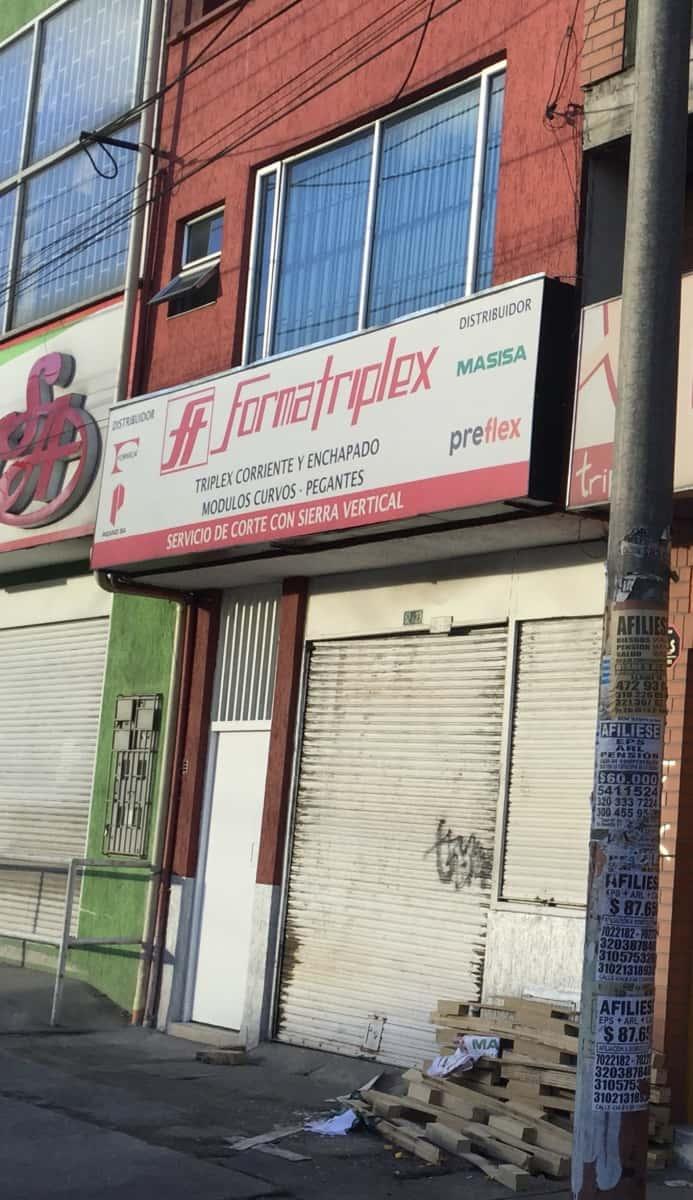 Formatriplex Ferretería Plaza 12 De Octubre Barrios
