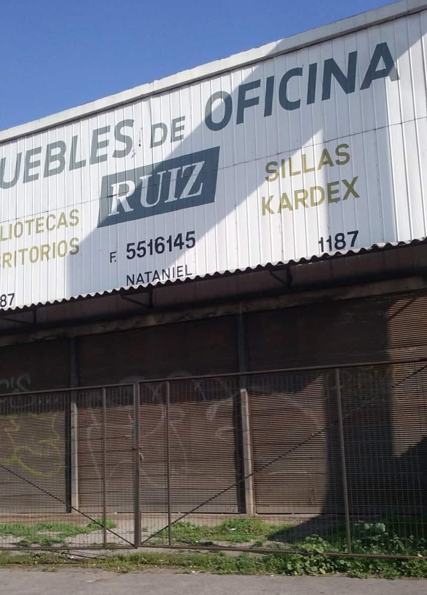 Muebles De Oficina Ruiz En Nataniel Cox N 1187 Santiago Comuna  # Muebles Ruiz Ciudad Real