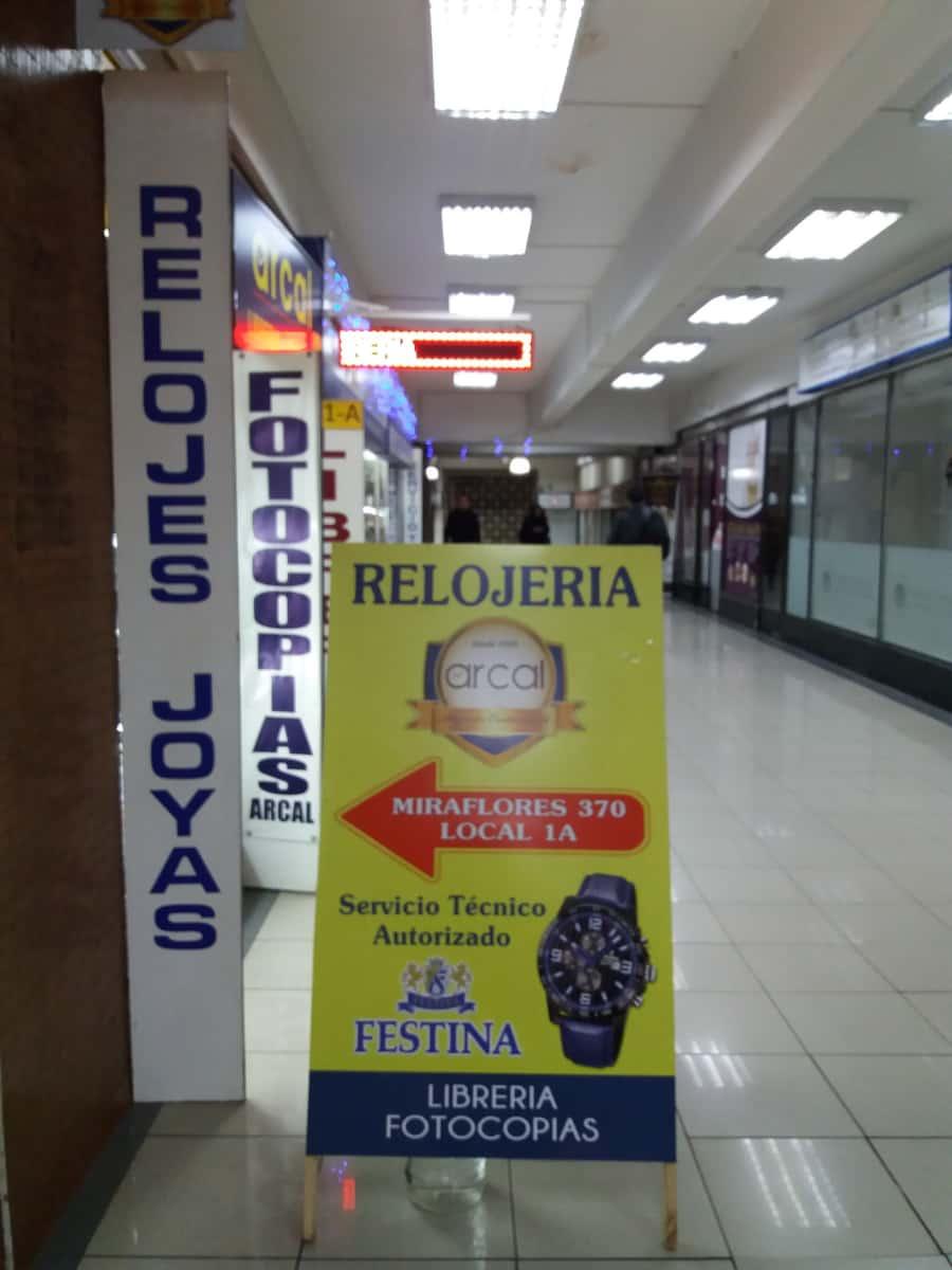 35efe61c696f Relojería Festina en Miraflores N° 370