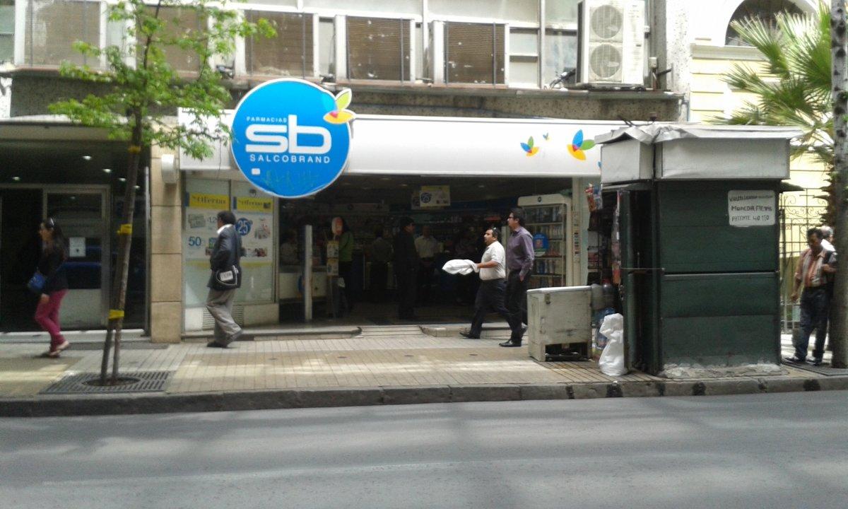Farmacias Salcobrand - Moneda en Moneda Nº 1040   Santiago
