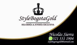 Style Bogotá Gold