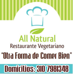 All Natural - Restaurante Vegetariano