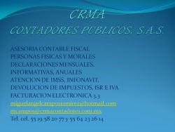 CRMA Contadores Publicos