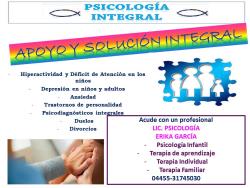 Psicología integral Ixoye