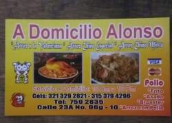 A Domicilios Alonso
