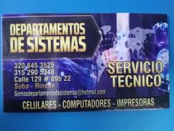 Departamentos De Sistemas