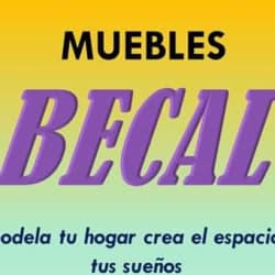 MUEBLES BECAL