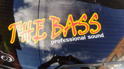 The bass professional sound