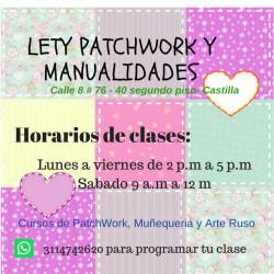 Lety Patchwork y Manualidades
