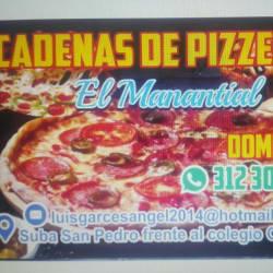 Cadena De Pizzeria El Manantial