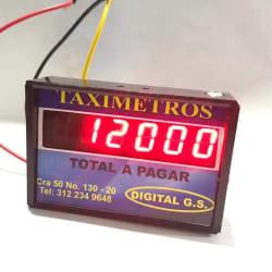 Taxímetro Digital G.s