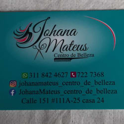 Johana Mateus Centro De Belleza