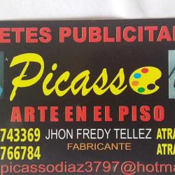 Picasso Arte En El Piso